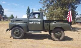 1948 Ford F5 Army Truck 400ci (10)