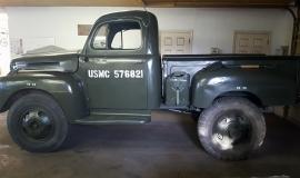 1948 Ford F5 Army Truck 400ci (11)