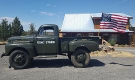 1948 Ford F5 Army Truck 400ci (15)