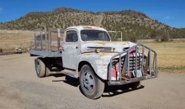 1948 Ford F5 Army Truck 400ci (5)