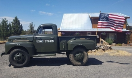 1948 Ford F5 Army Truck 400ci (7)