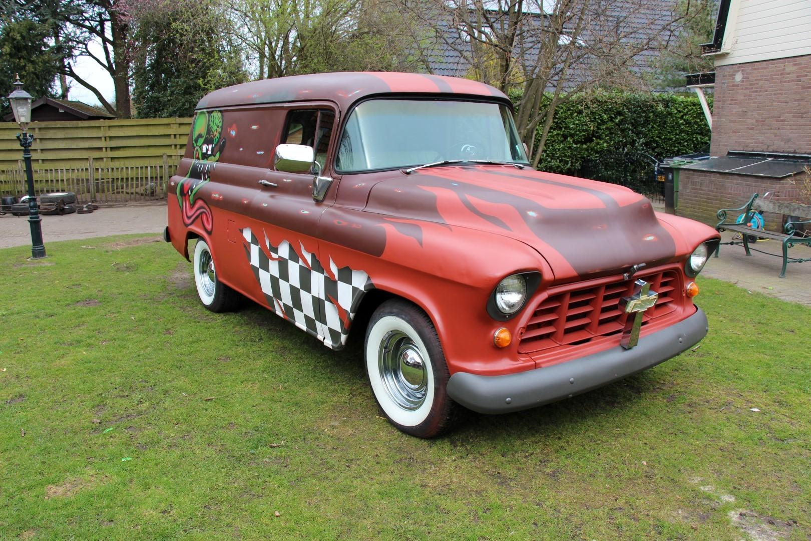 1956 Chevy Panelvan Rat Rod Speed Monkey Cars 1961 Panel Van 4