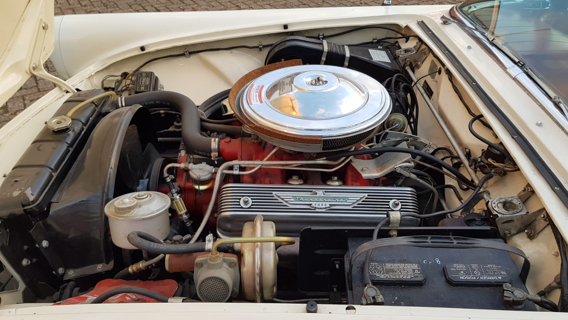 1957 Ford Thunderbird Convertible 312ci (16)