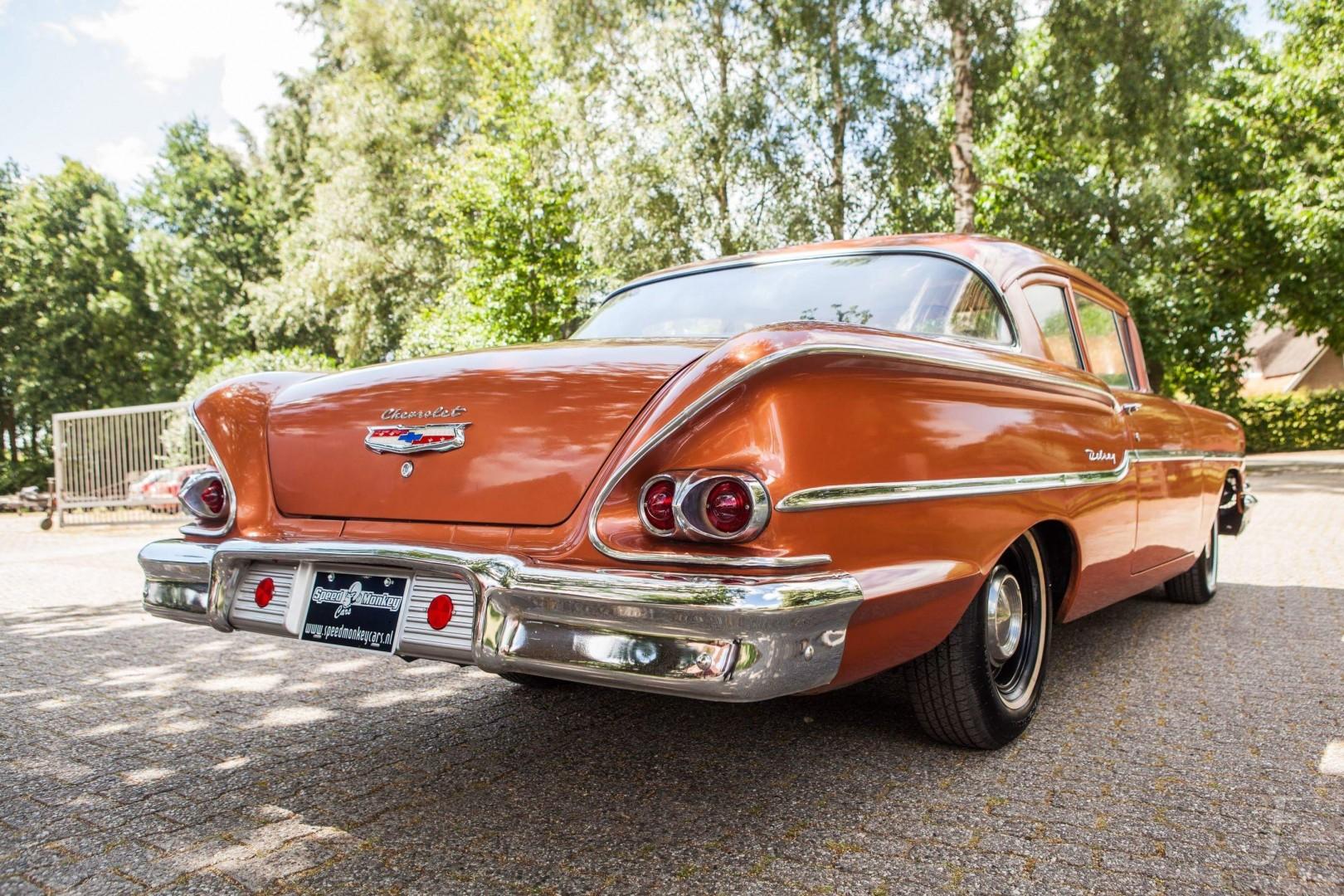 1958 Chevrolet Delray with 300hp 327ci V8 (10)