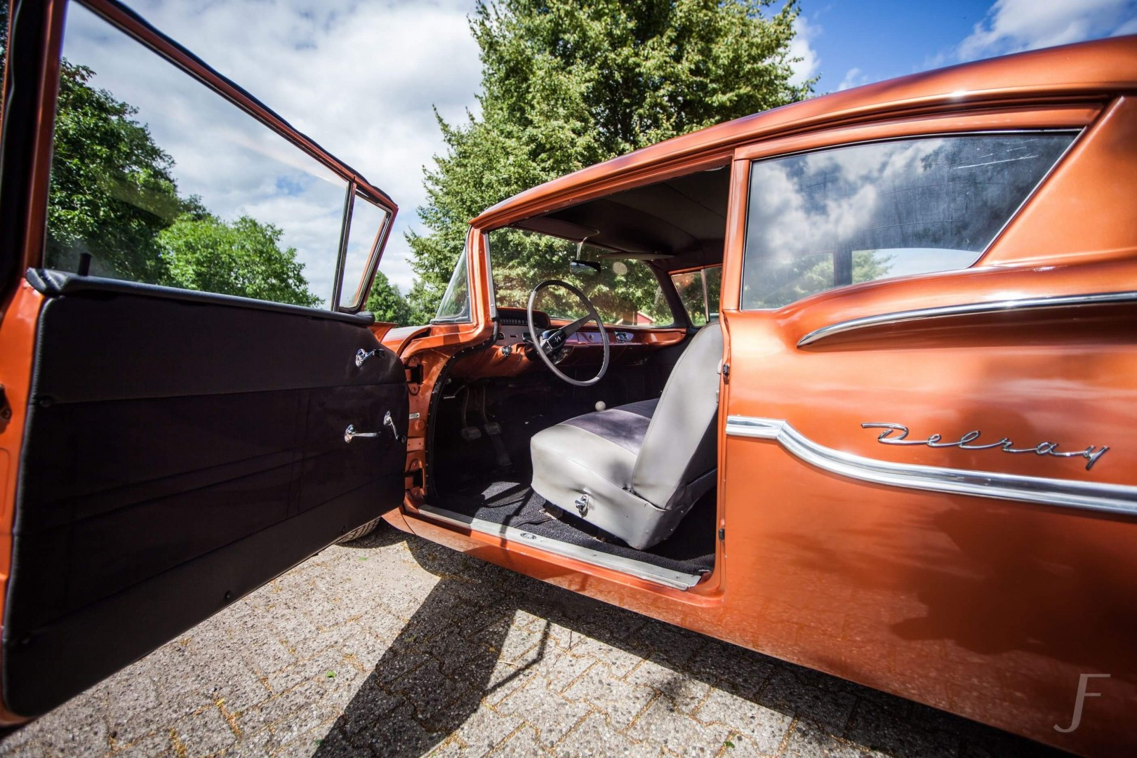 1958 Chevrolet Delray with 300hp 327ci V8 (18)