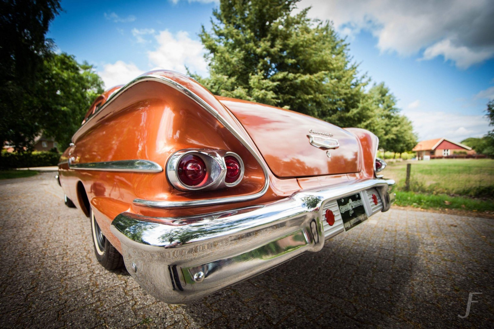 1958 Chevrolet Delray with 300hp 327ci V8 (24)