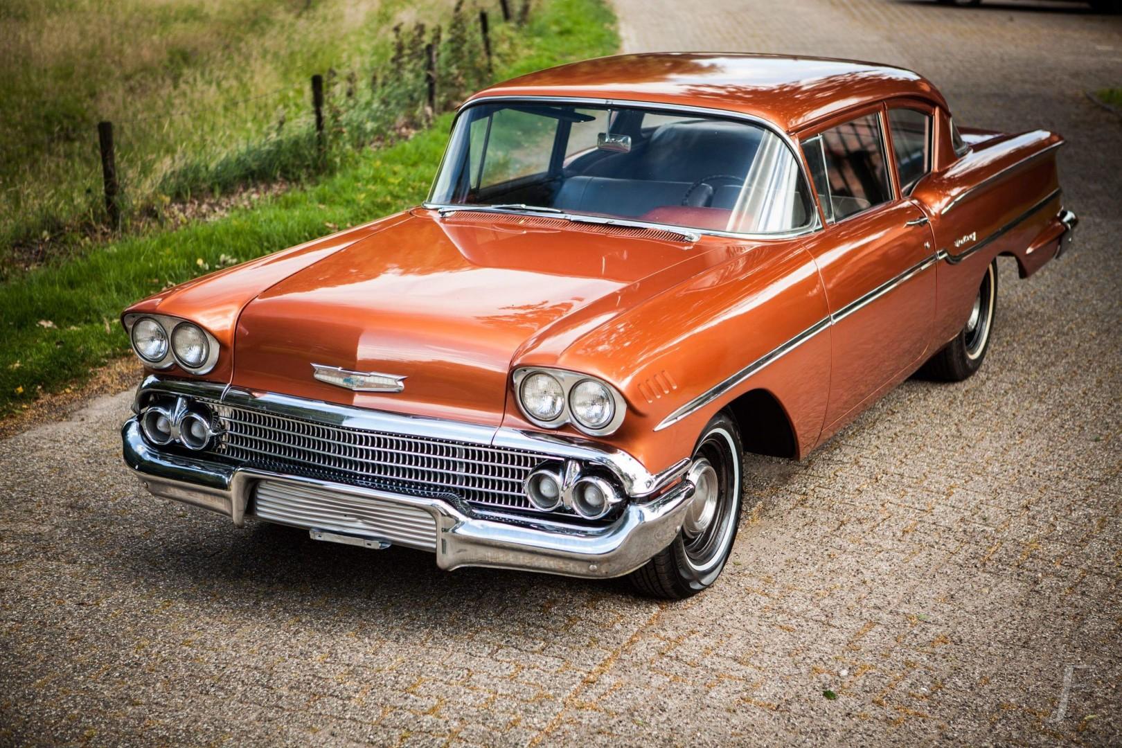 1958 Chevrolet Delray with 300hp 327ci V8 (30)