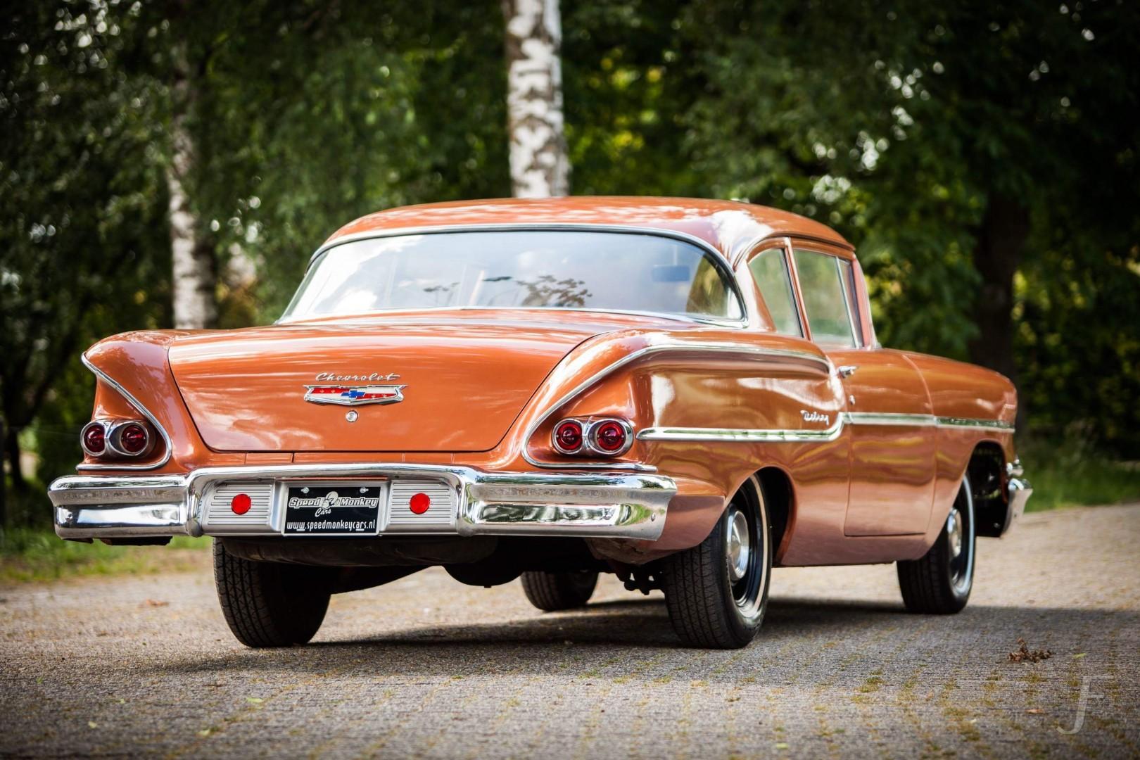 1958 Chevrolet Delray with 300hp 327ci V8 (32)