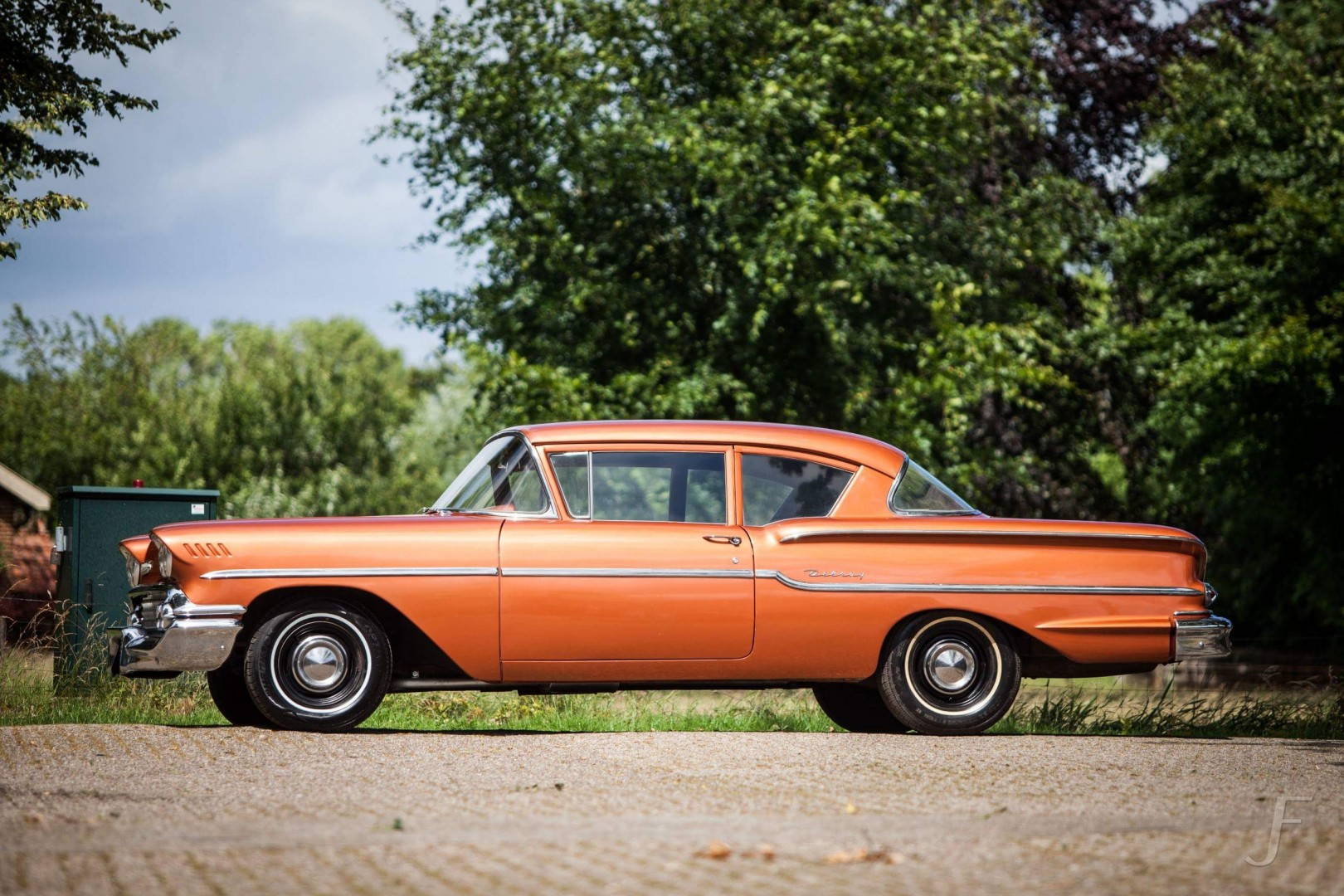 1958 Chevrolet Delray with 300hp 327ci V8 (35)