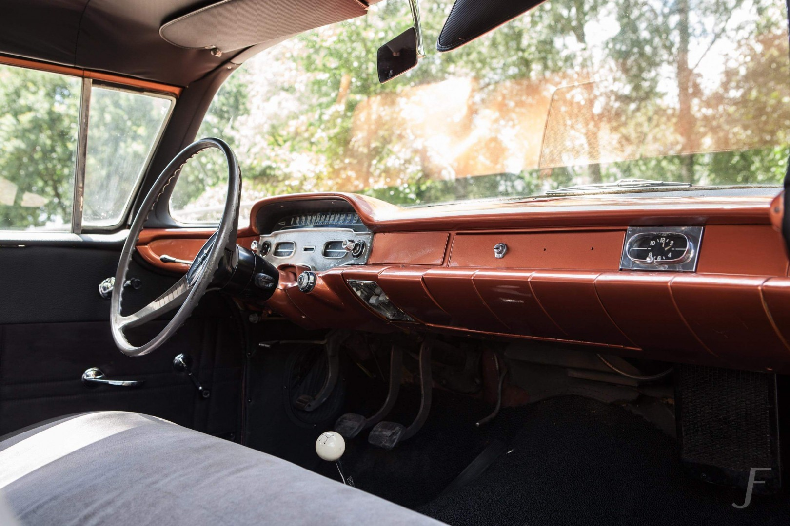 1958 Chevrolet Delray with 300hp 327ci V8 (4)