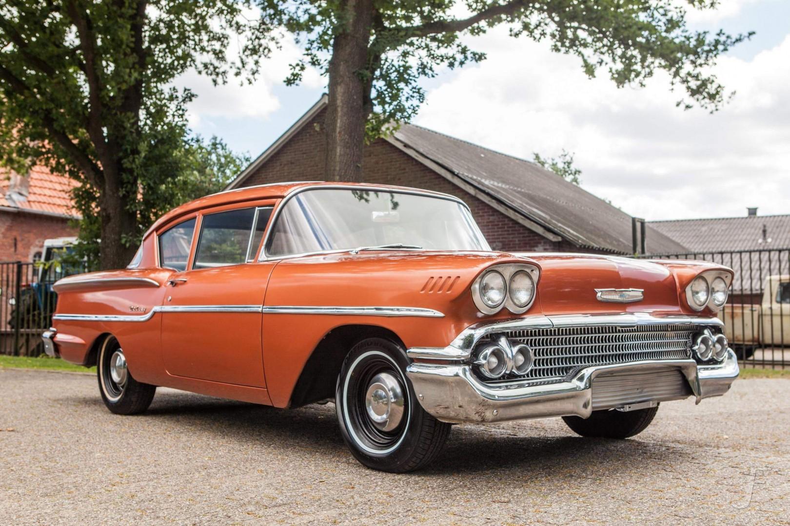 1958 Chevrolet Delray with 300hp 327ci V8 (5)