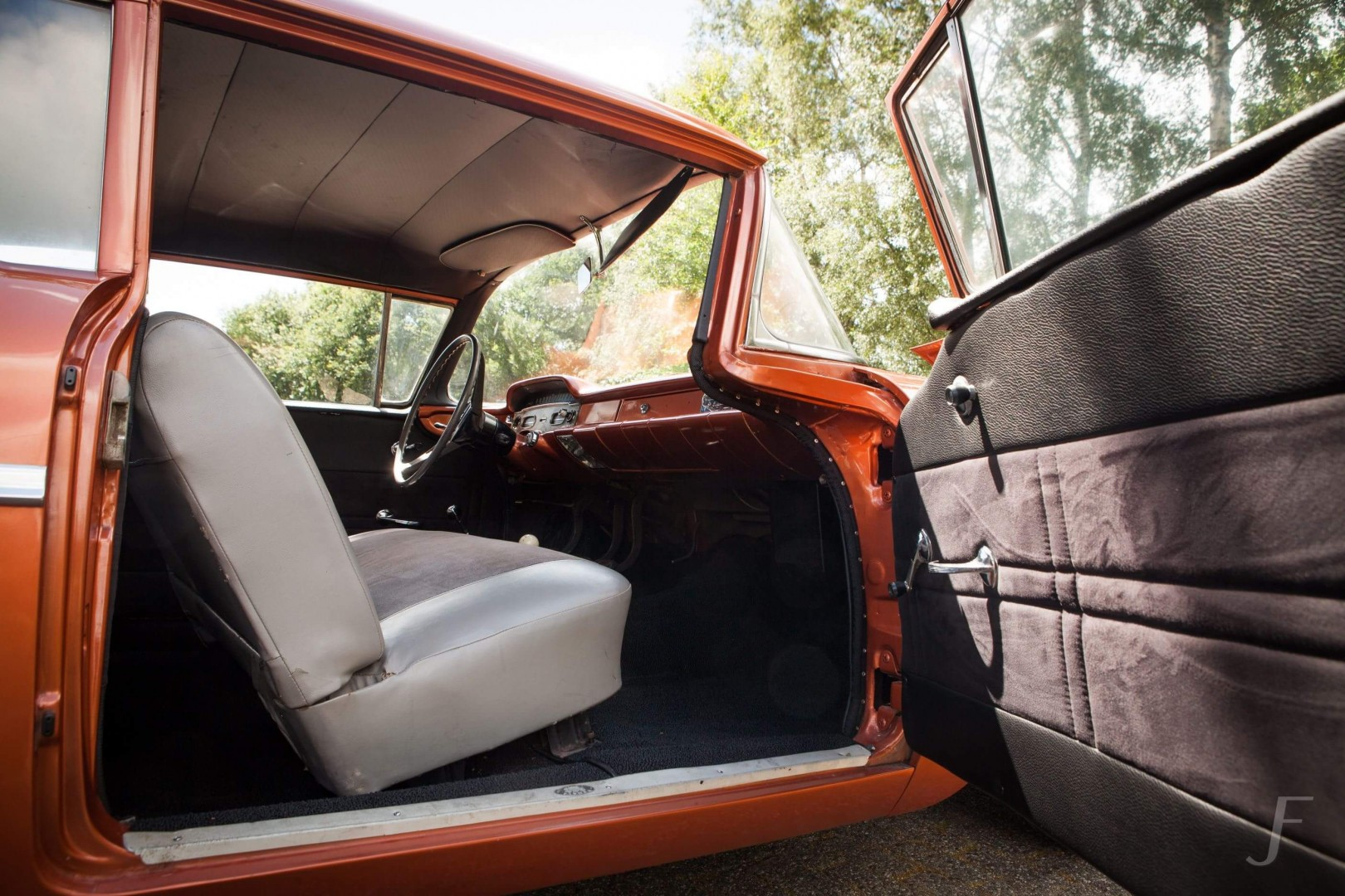 1958 Chevrolet Delray with 300hp 327ci V8 (7)
