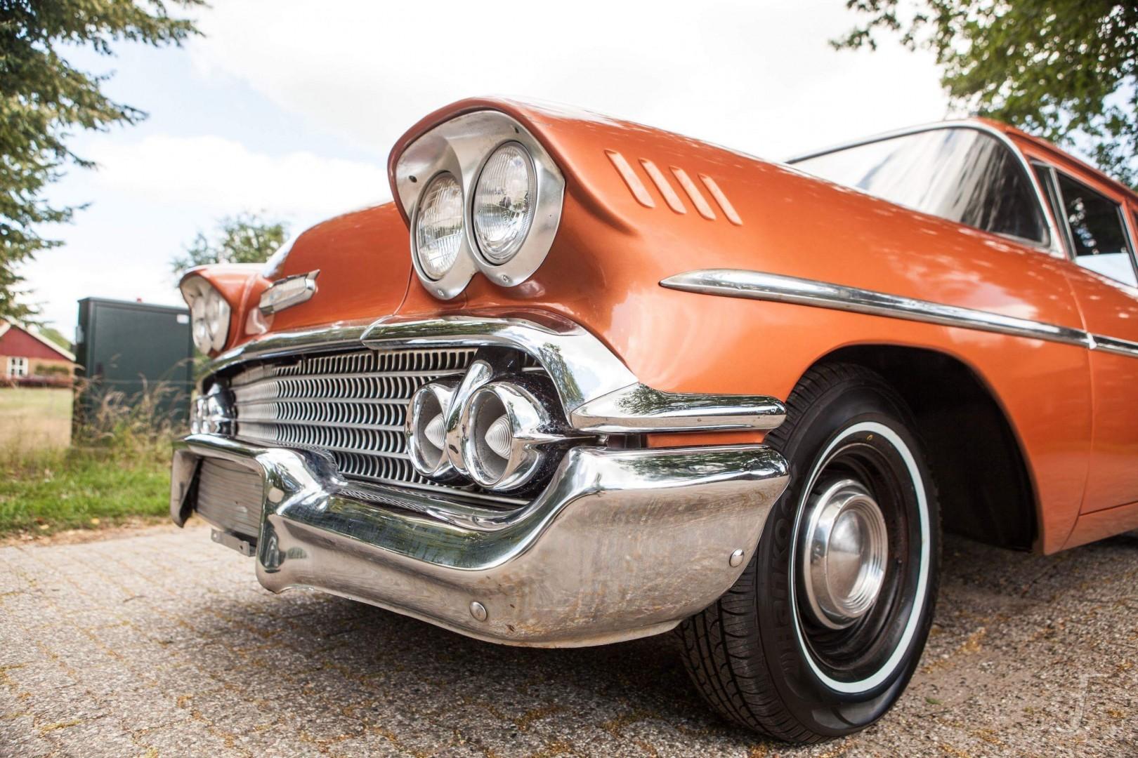 1958 Chevrolet Delray with 300hp 327ci V8 (8)