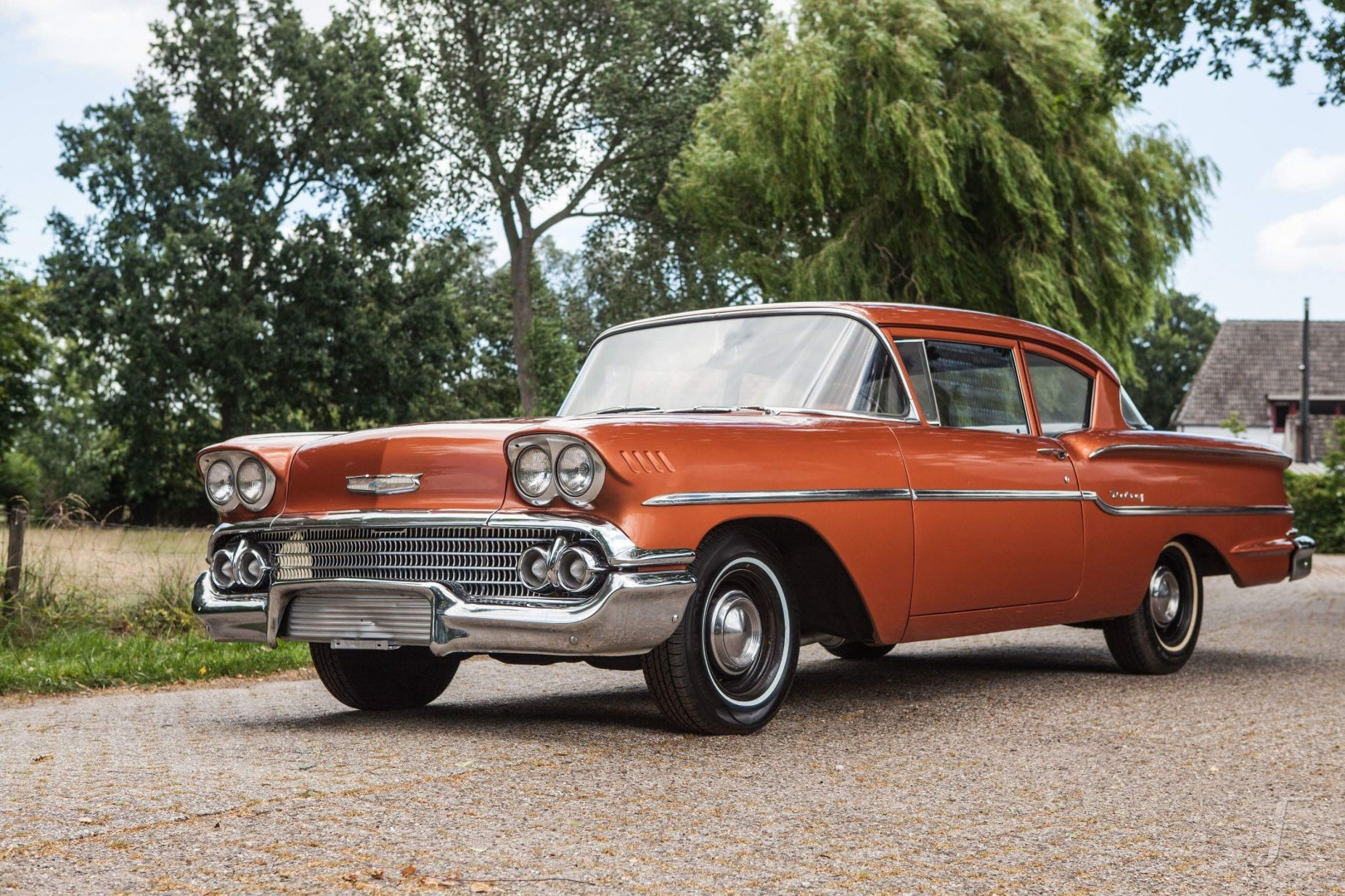 1958 Chevrolet Delray with 300hp 327ci V8 (9)