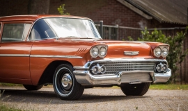 1958 Chevrolet Delray with 300hp 327ci V8 (28)