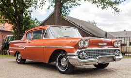 1958 Chevrolet Delray with 300hp 327ci V8 (5)