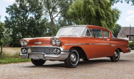1958 Chevrolet Delray with 300hp 327ci V8 (9)