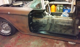 1958 Ford Thunderbird restoration (16)