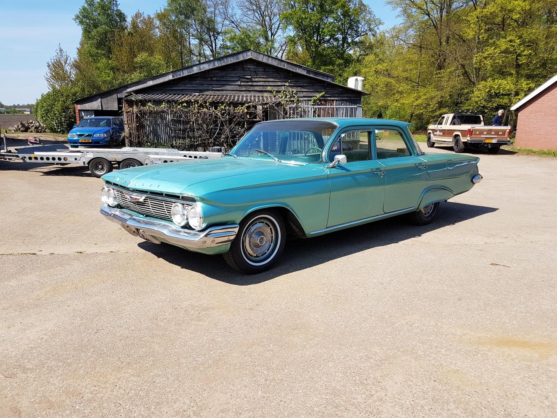 1961 Chevrolet Biscayne - 283ci (3)