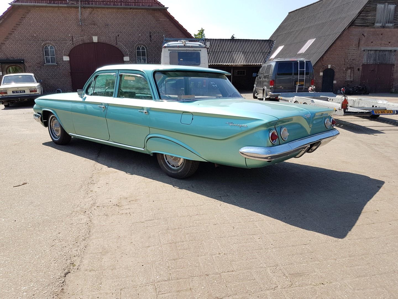 1961 Chevrolet Biscayne - 283ci (9)