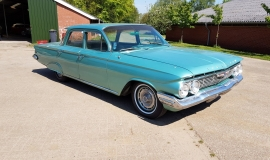 1961 Chevrolet Biscayne - 283ci (5)