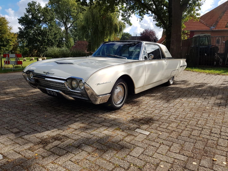 1962 Ford Thunderbird 390ci - Bulletbird (1)