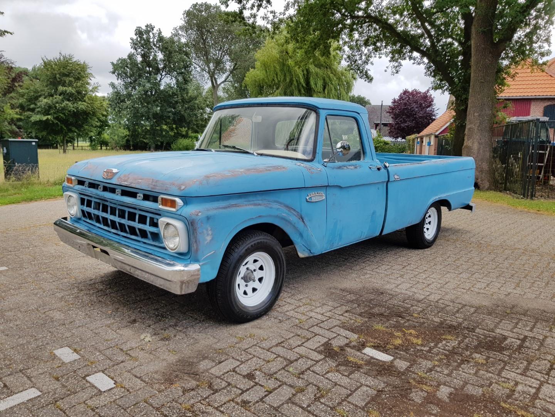 1965 Ford F100 390ci (1)