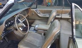 1965 Ford Thunderbird Convertible 390ci - green (10)