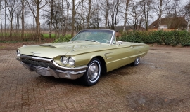 1965 Ford Thunderbird Convertible 390ci - Ivy Gold (1)