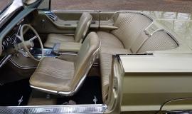 1965 Ford Thunderbird Convertible 390ci - Ivy Gold (11)