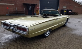 1965 Ford Thunderbird Convertible 390ci - Ivy Gold (5)