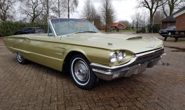 1965 Ford Thunderbird Convertible 390ci - Ivy Gold (7)
