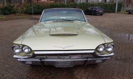 1965 Ford Thunderbird Convertible 390ci - Ivy Gold (8)