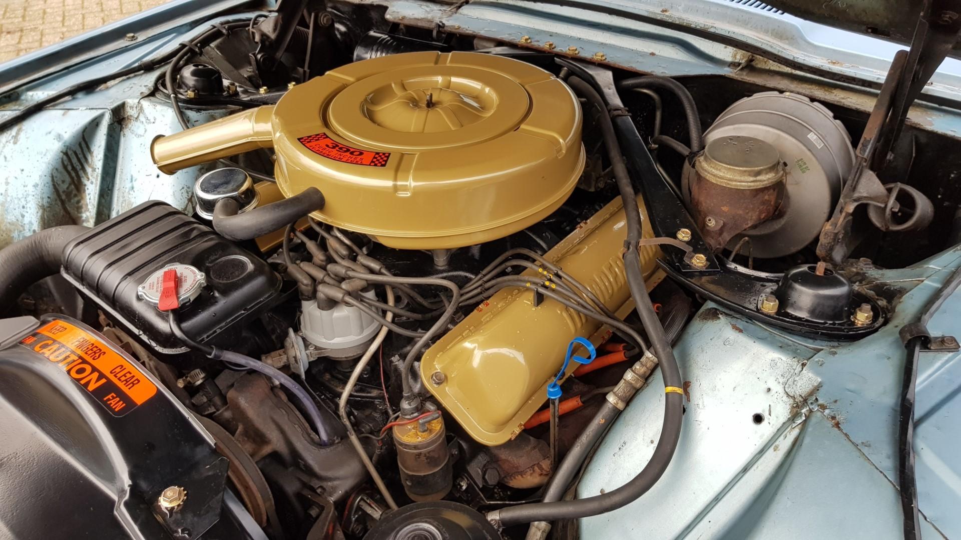 1965 Ford Thunderbird Hardtop 390ci FE (17)