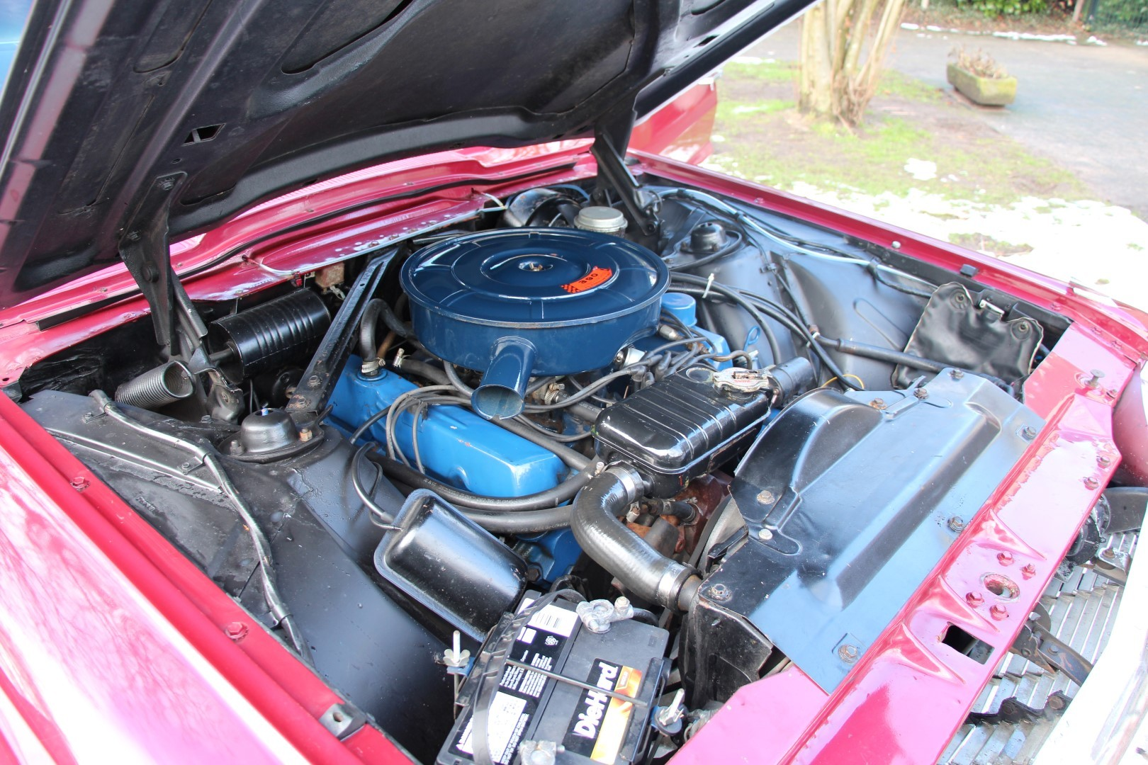 1965 Ford Thunderbird Hardtop - Burgundy new (8)