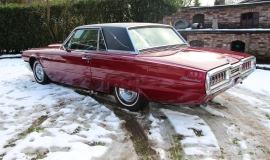 1965 Ford Thunderbird Hardtop - Burgundy new (12)