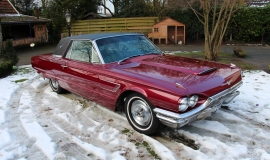 1965 Ford Thunderbird Hardtop - Burgundy new (16)