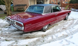 1965 Ford Thunderbird Hardtop - Burgundy new (18)