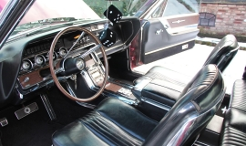 1965 Ford Thunderbird Hardtop - Burgundy new (2)