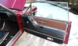 1965 Ford Thunderbird Hardtop - Burgundy new (5)
