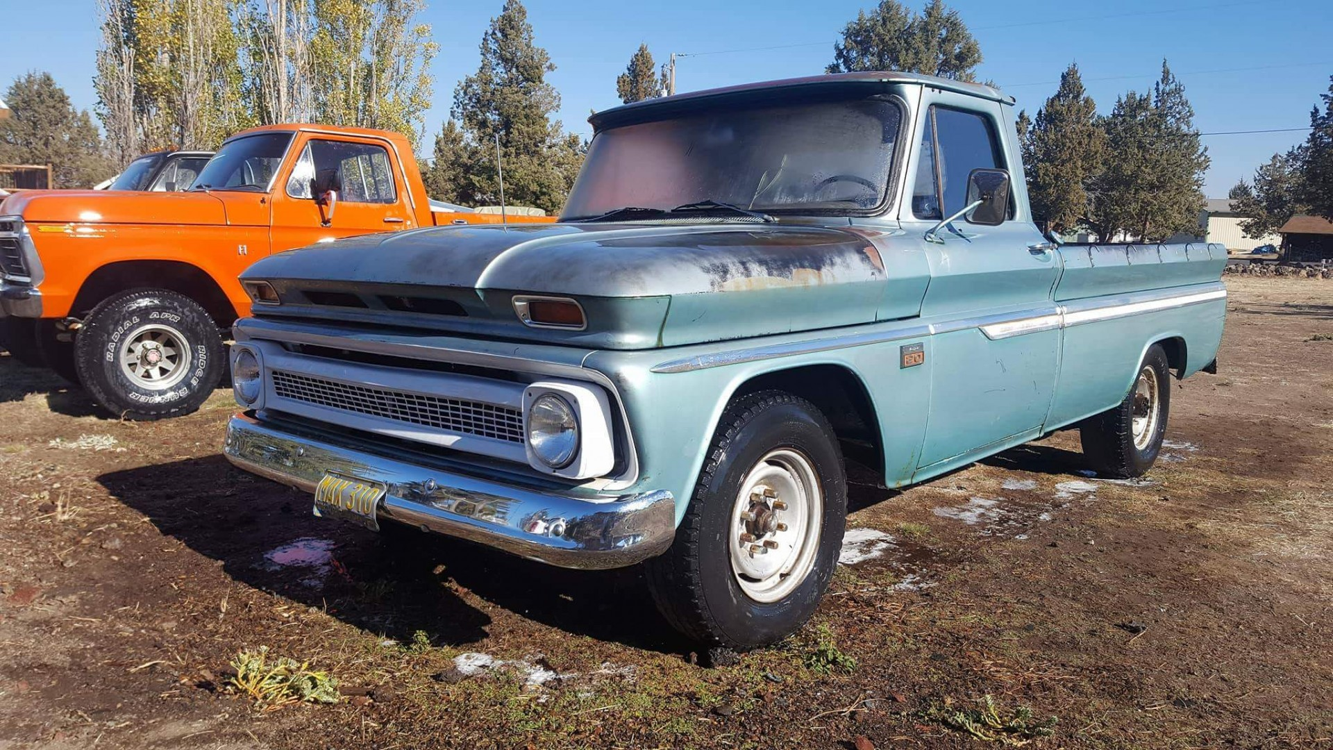 1966 Chevrolet C20 327ci Automatic (3)