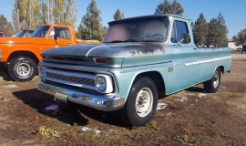 1966 Chevrolet C20 327ci Automatic (3)
