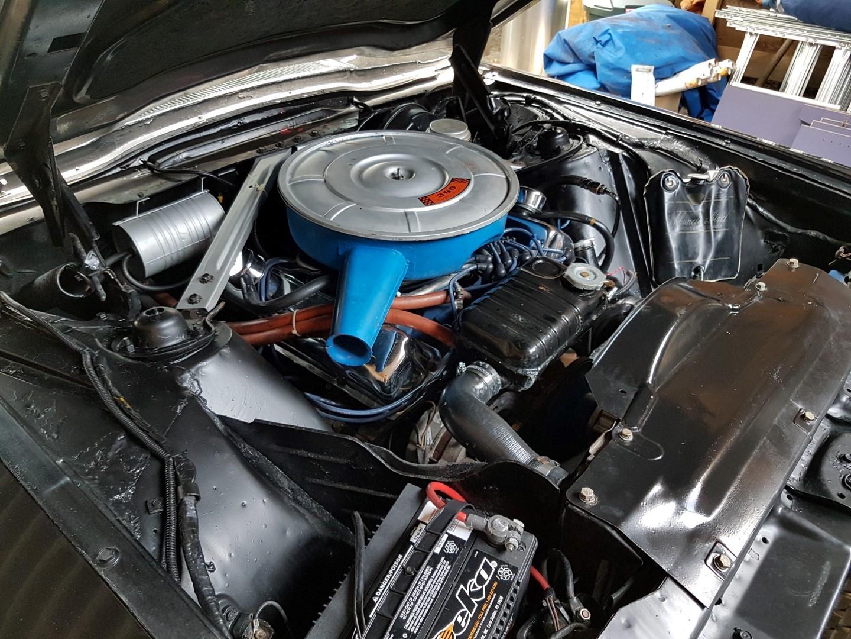 1966 Ford Thunderbird Town Landau triple black - 390ci (40)