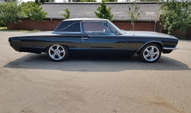 1966 Ford Thunderbird Town Landau triple black - 390ci (23)