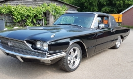 1966 Ford Thunderbird Town Landau triple black - 390ci (29)