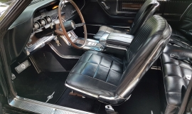 1966 Ford Thunderbird Town Landau triple black - 390ci (30)