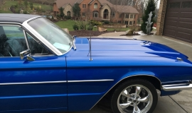 1966 Ford Thunderbird 428ci - blue (1)