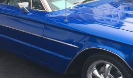 1966 Ford Thunderbird 428ci - blue (17)