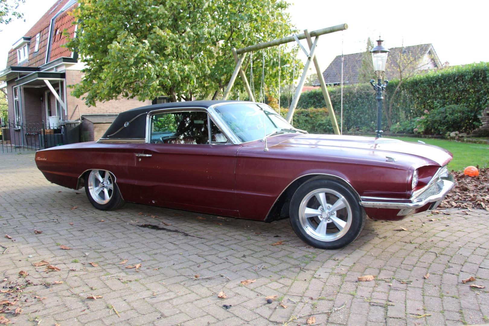 1966 ford thunderbird landau with 390ci fe speed monkey cars. Black Bedroom Furniture Sets. Home Design Ideas