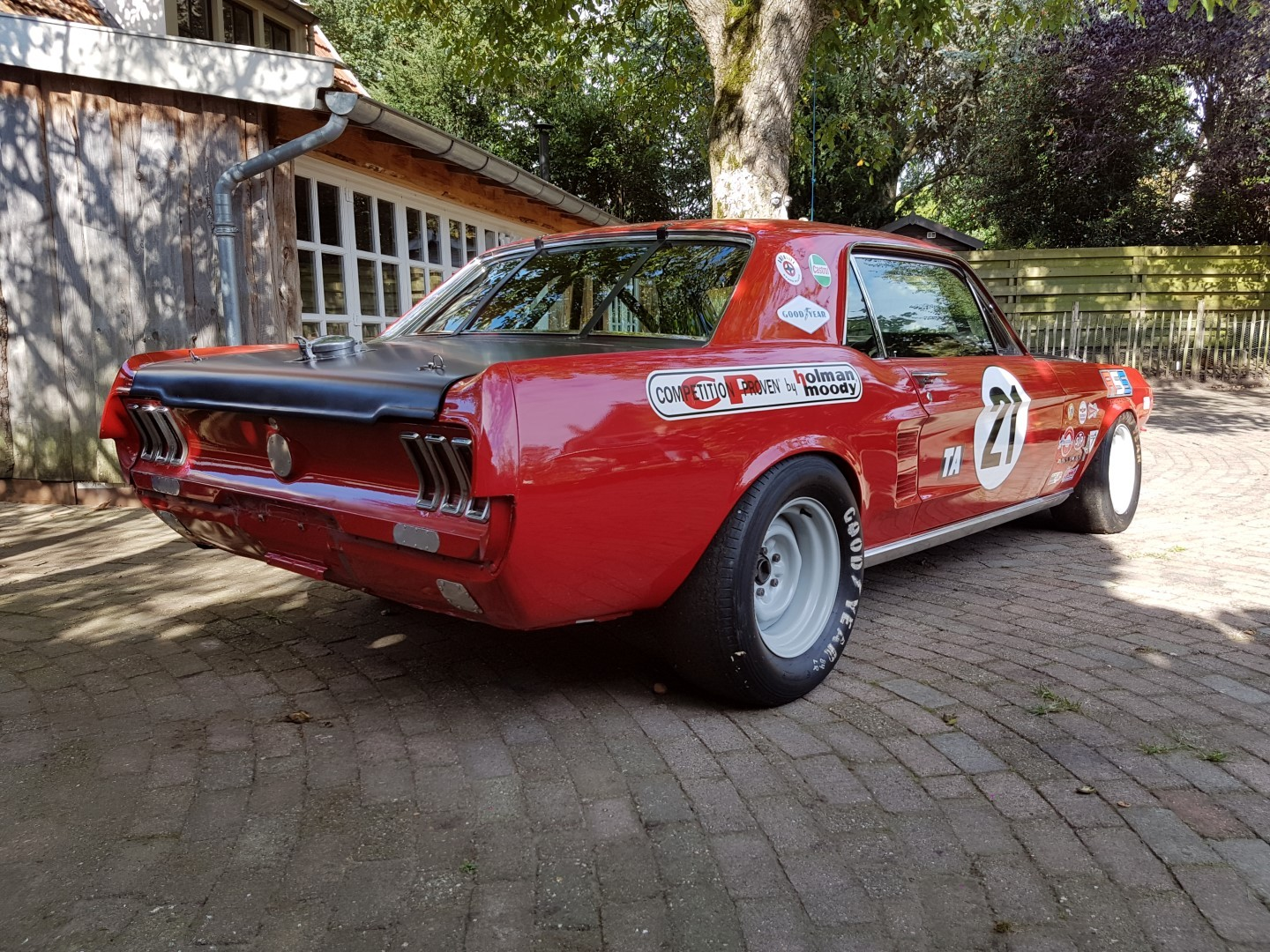 1967 Mustang Trans Am Series Road Race Car Speed Monkey Cars